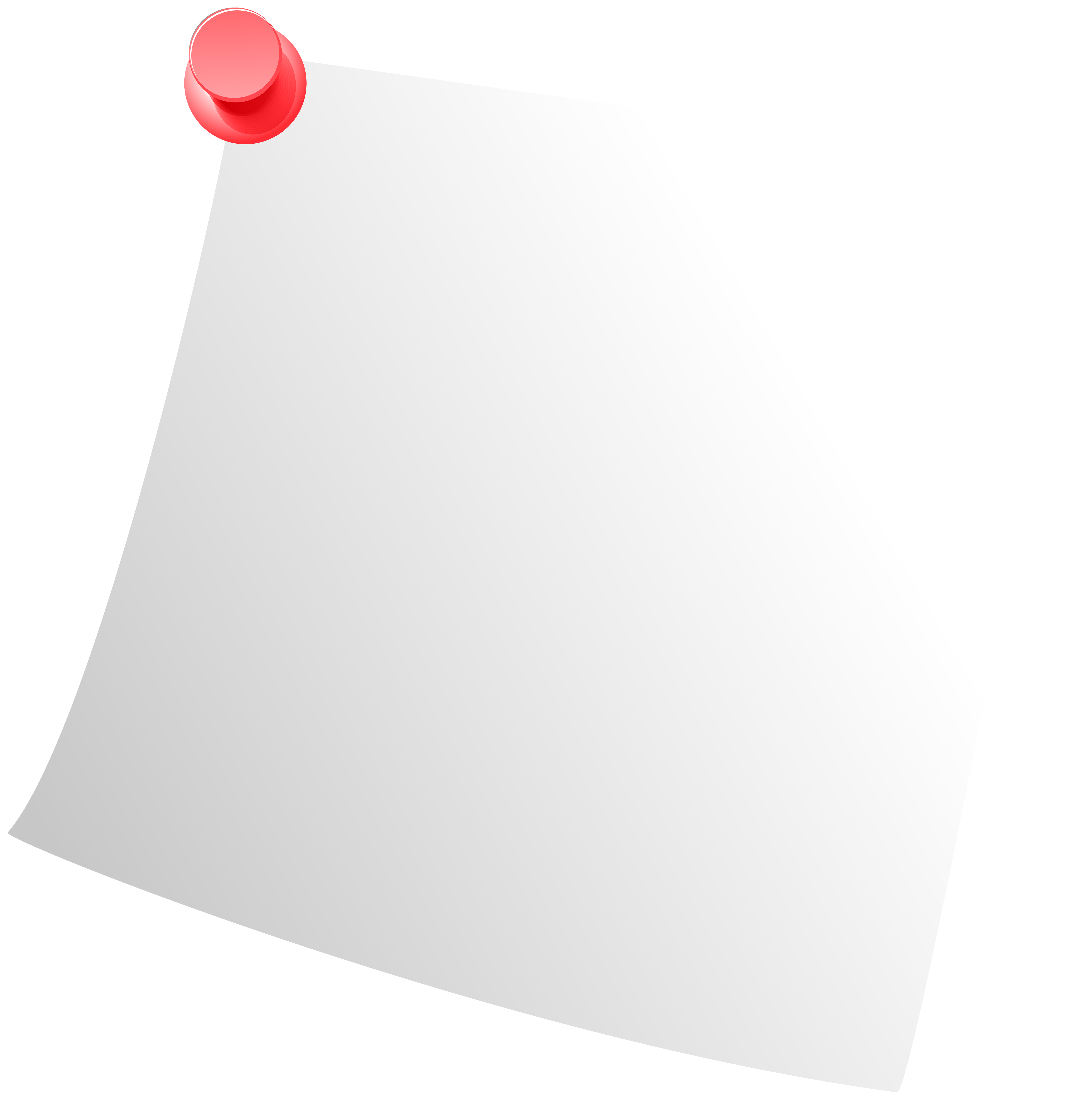 White png clip art. Paper clipart sticky note