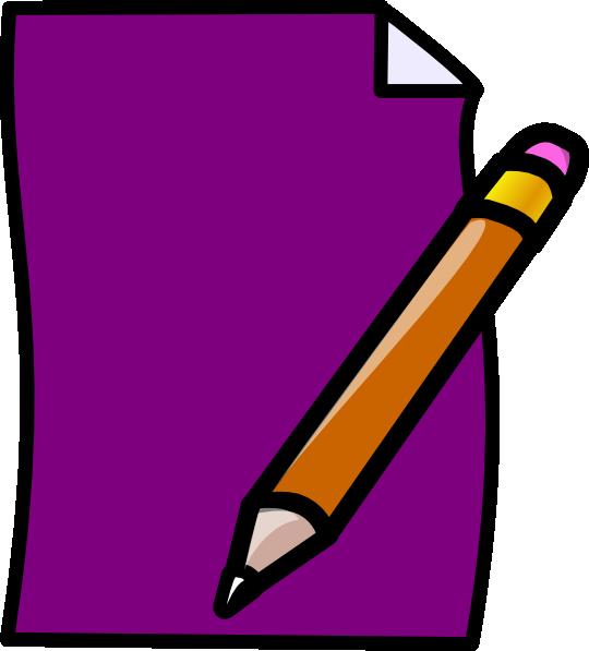Clip art at clker. Document clipart test paper