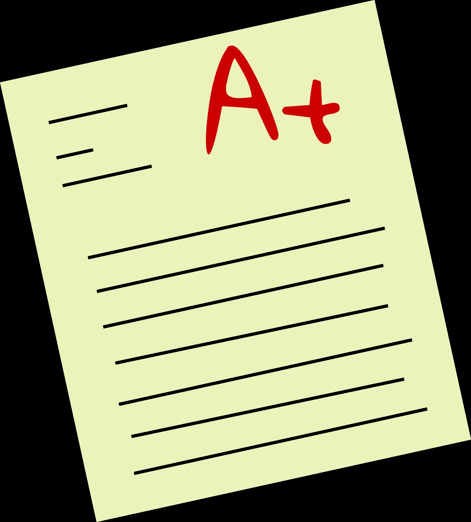 essay clipart test paper #101040586
