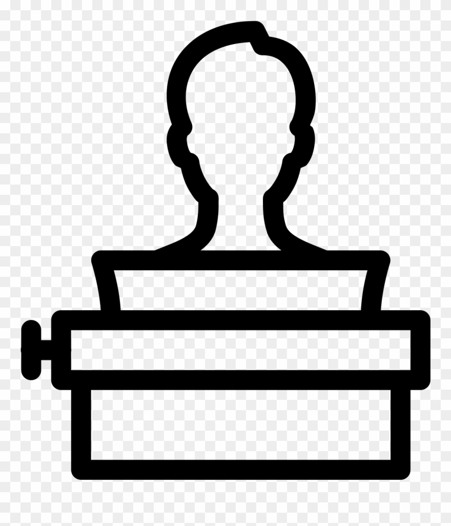 Graphic user using icon. Paper clipart typing a