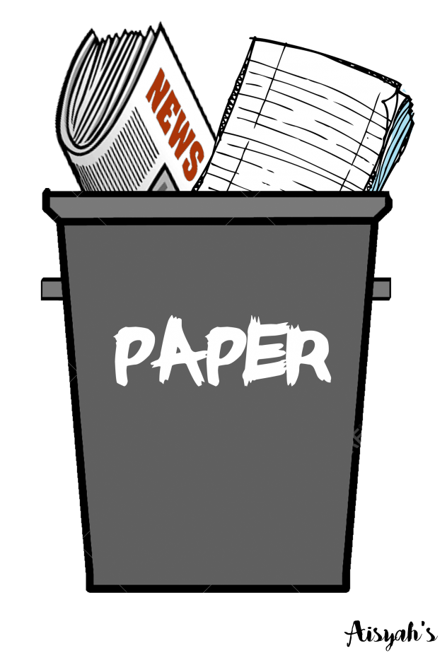 Haysians page trashed problems. Garbage clipart paper