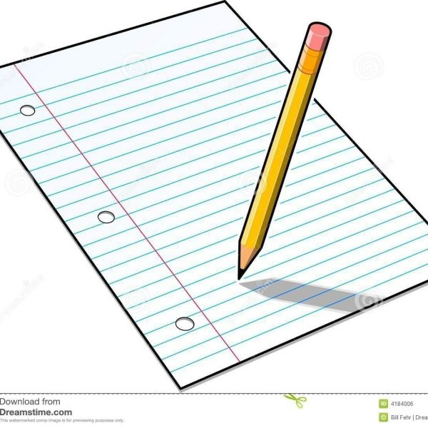 Notebook clipart notebook writing. Pencil in clipartuse with