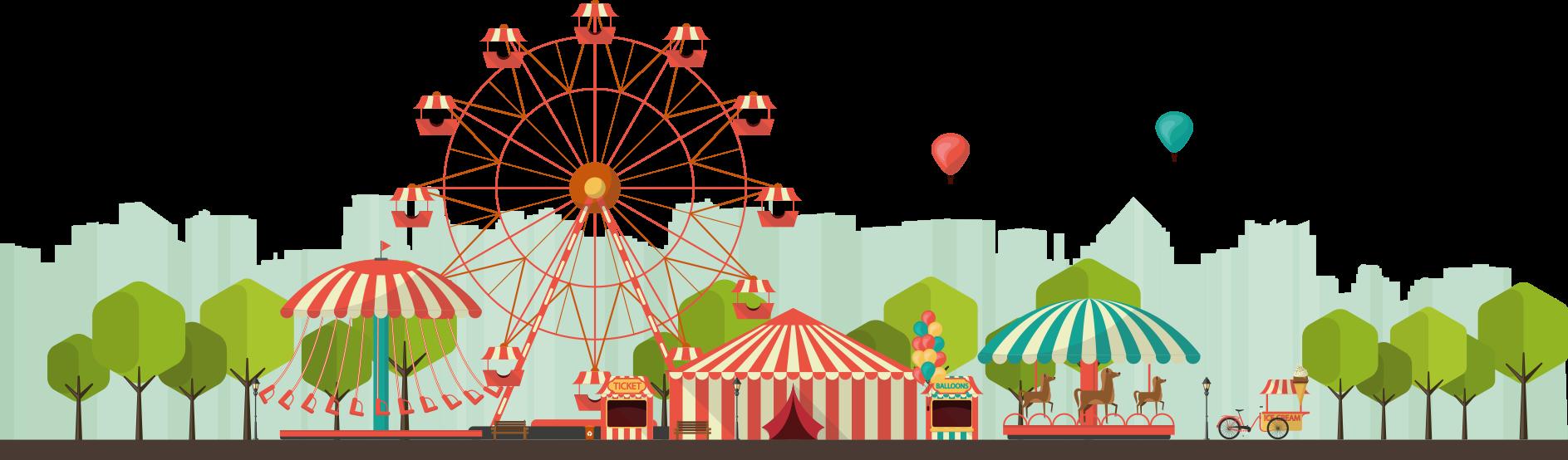 Gate clipart amusement park.  collection of png