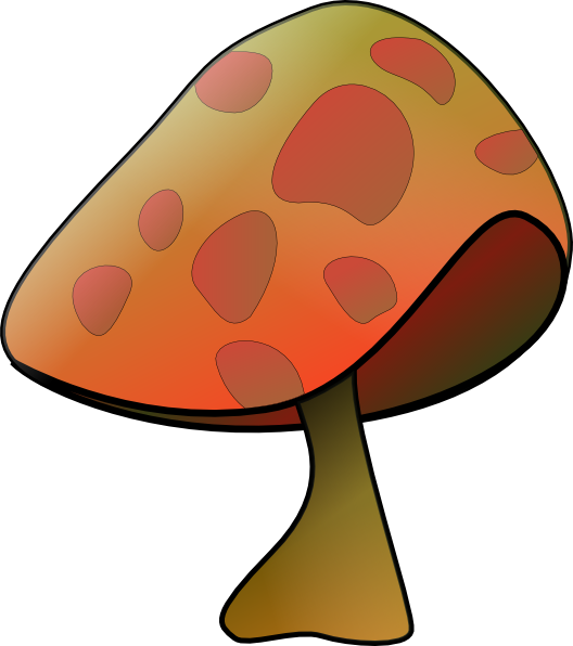 Mushroom clipart animation. Clip art at clker