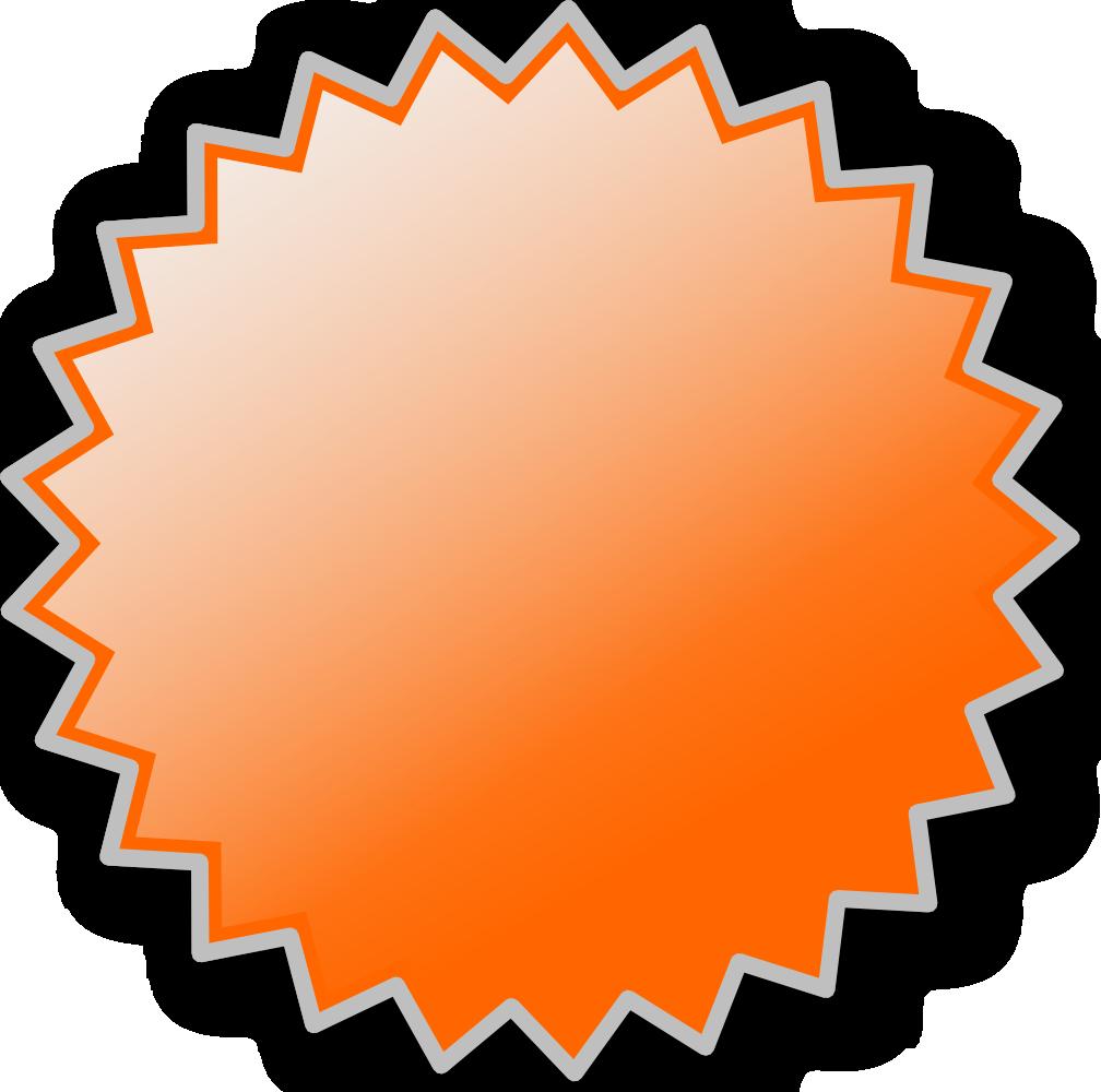 Flash clipart starburst. Onlinelabels clip art basic