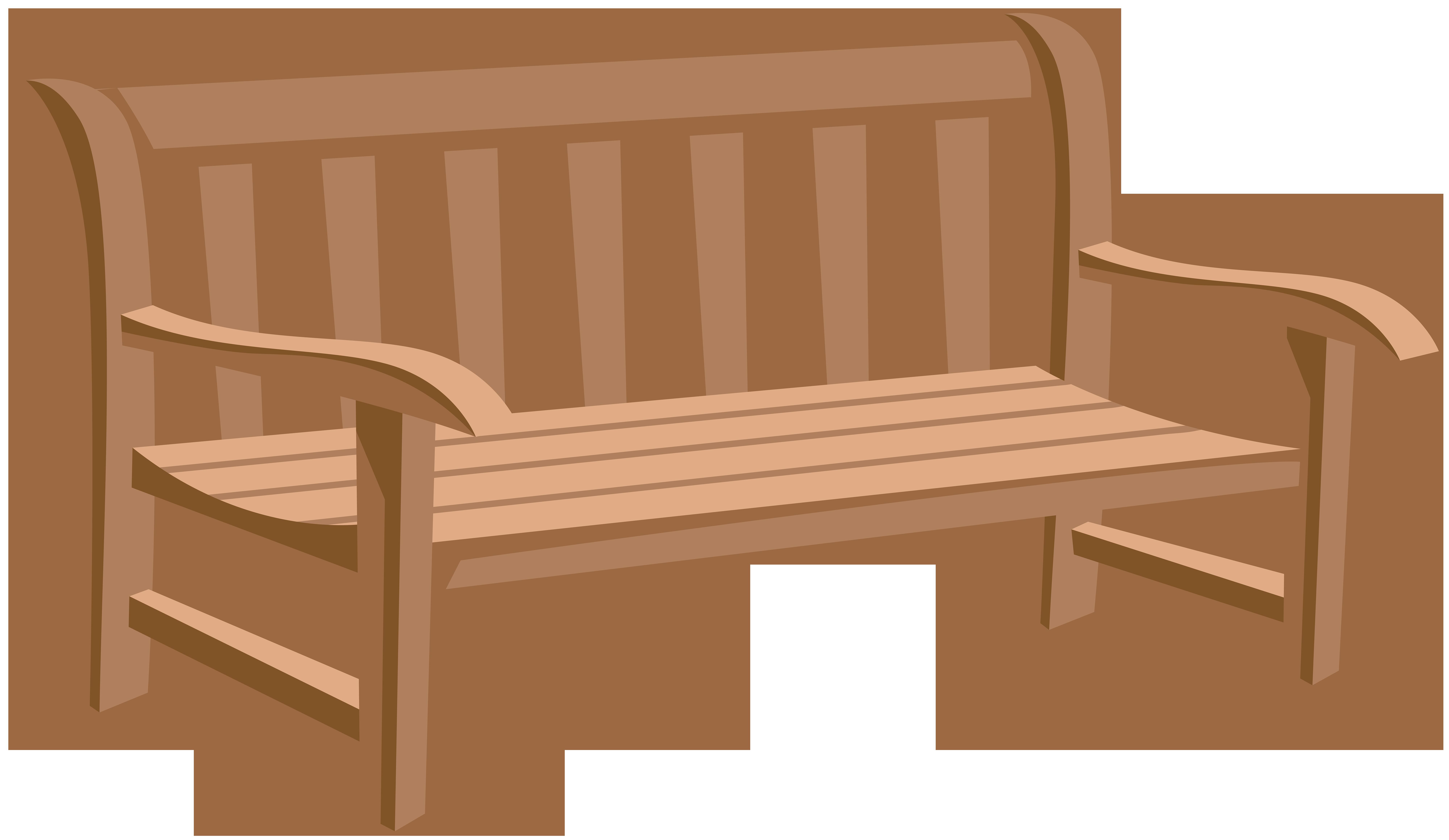 Park png clip art. Bench clipart