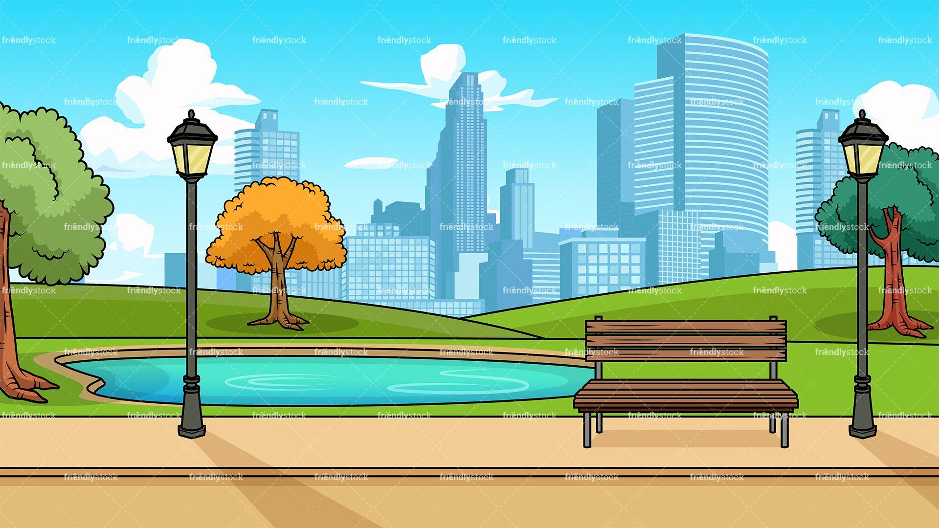 Clipart park city park. Modern background tanjung sepat