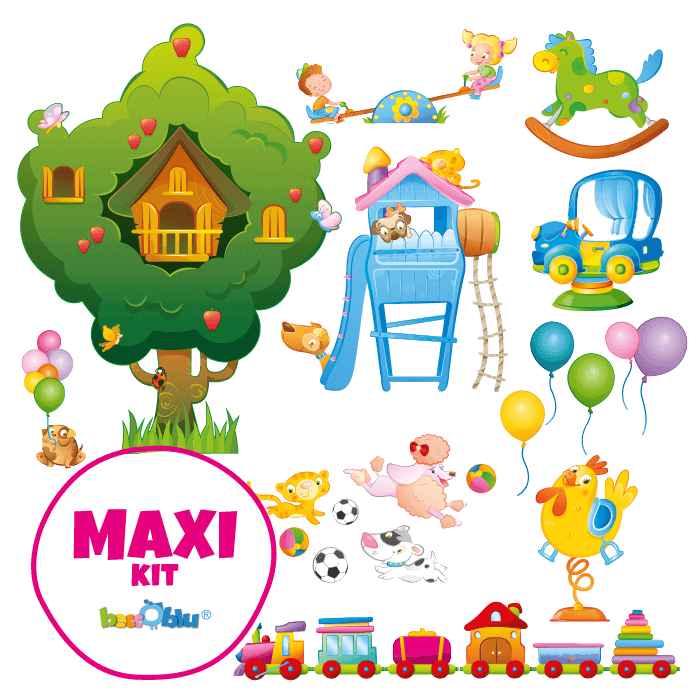 Clipart park country park. Wall decors for children