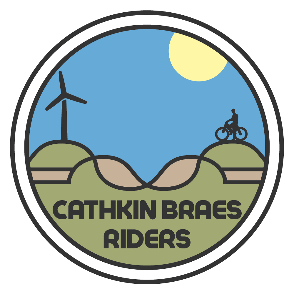 Clipart park country park. Cathkin braes riders promoting
