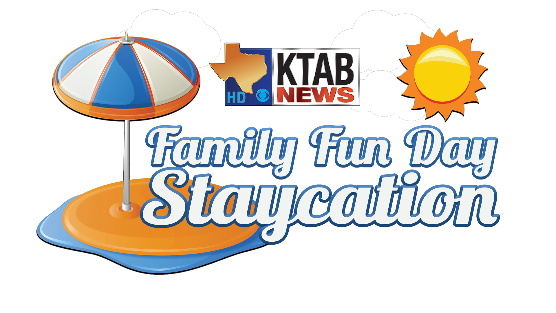 Clipart park family day out. Ffd staycation logo ver