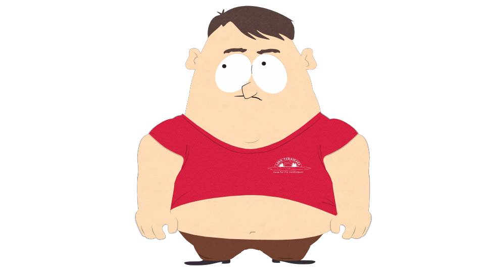 Mimsy official south park. Yelling clipart boss worker