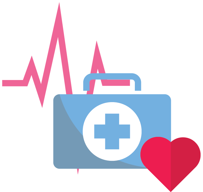 Community hospitals employed physician. Professional clipart healthcare industry