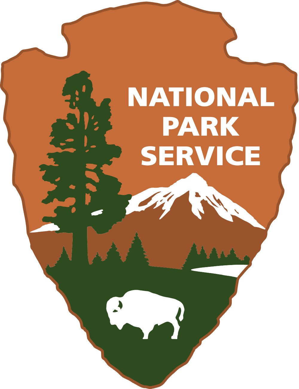 Clipart park icon. Denali national anniversary kuac
