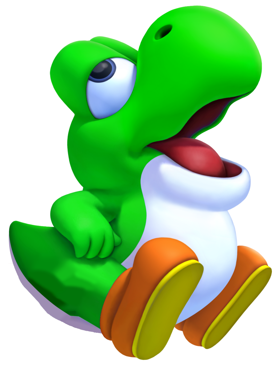 Clipart park messy. Image baby yoshi png
