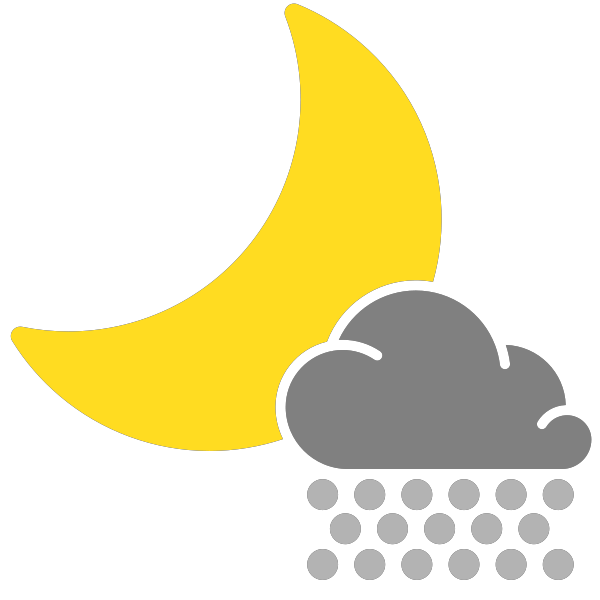 Park clipart night clipart. Simple weather icons scattered