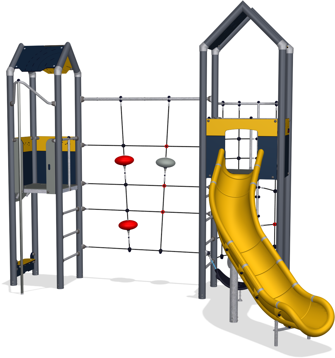 Park clipart outside playground. Double tower with climbing