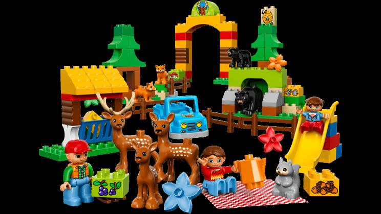 Forest park duplo products. Legos clipart construction lego