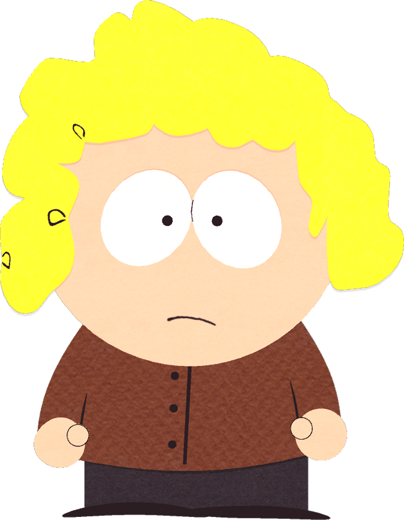 Annie knitts south park. Young clipart red hair boy