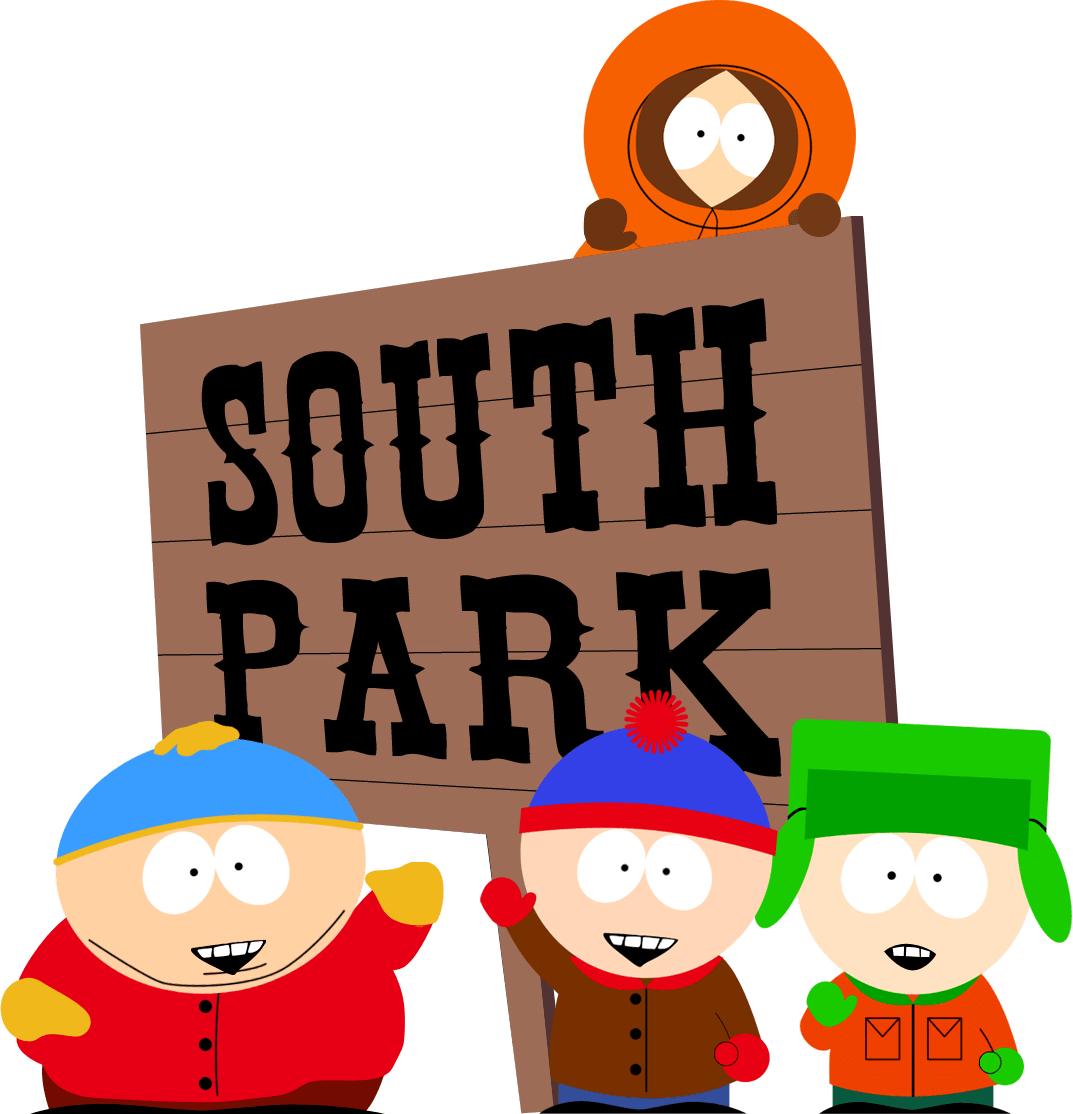 Movie clipart park clipart. South sign transparent png