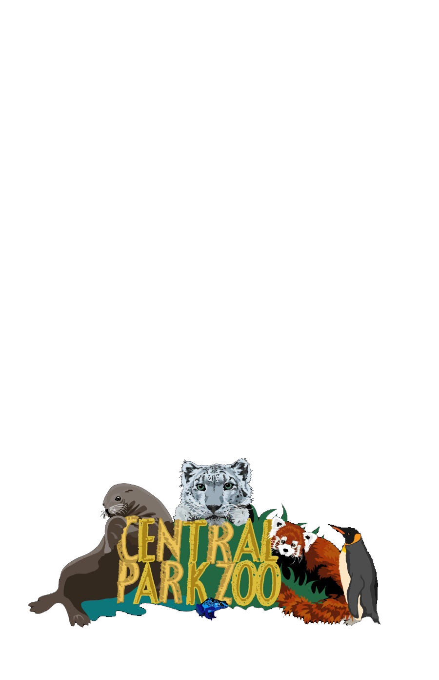 Central zoo snapchat geofilter. Park clipart parke