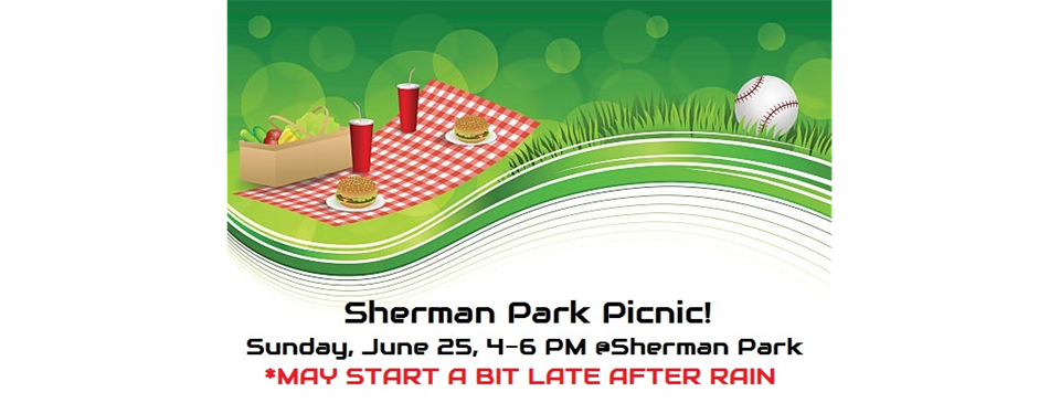 Home sherman picnic today. Park clipart park bbq