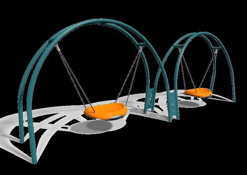 Clipart park playground equipment. Multiple user swing for