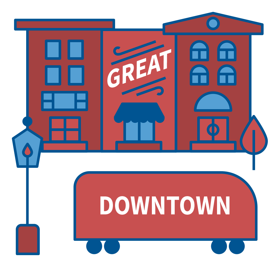 Neighborhood clipart town plaza. Home great places in
