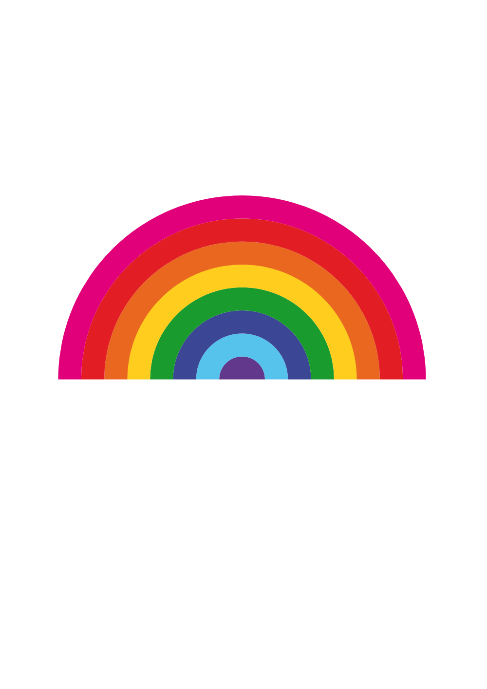Clipart park rainbow. Onlinelabels clip art ostadarra