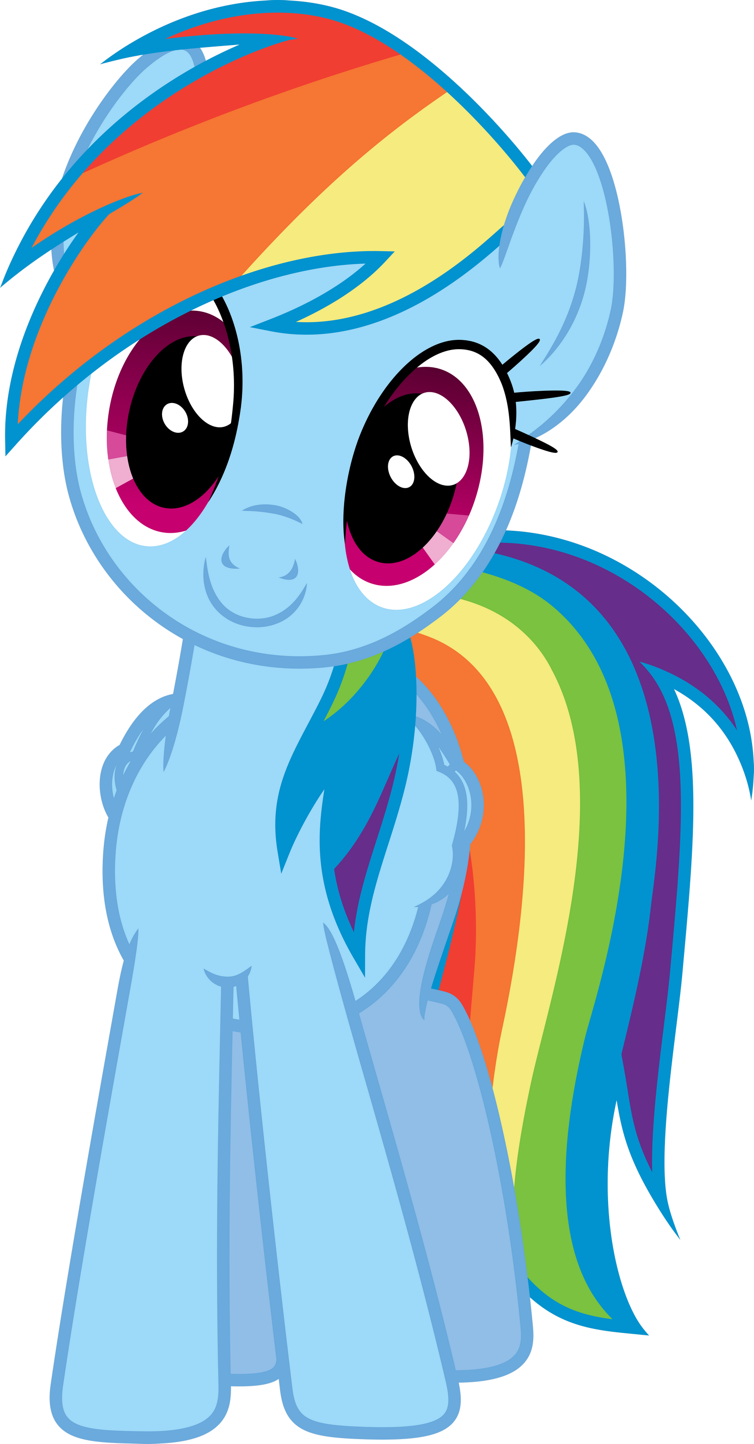 Magic clipart curly. Mlp another happy dashie