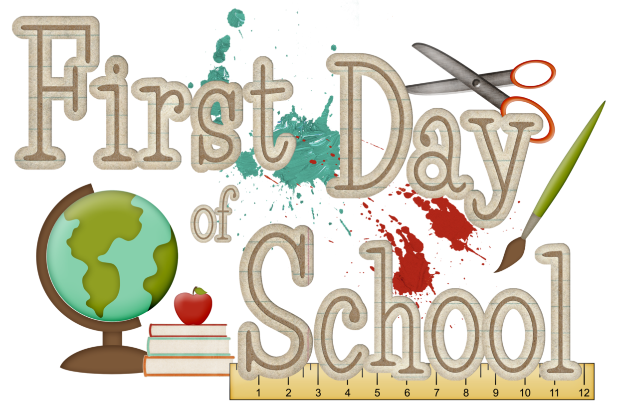 st of school. July clipart 1st day