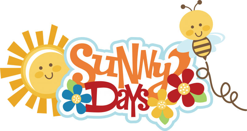 Days svg scrapbook title. Sunny clipart thought day