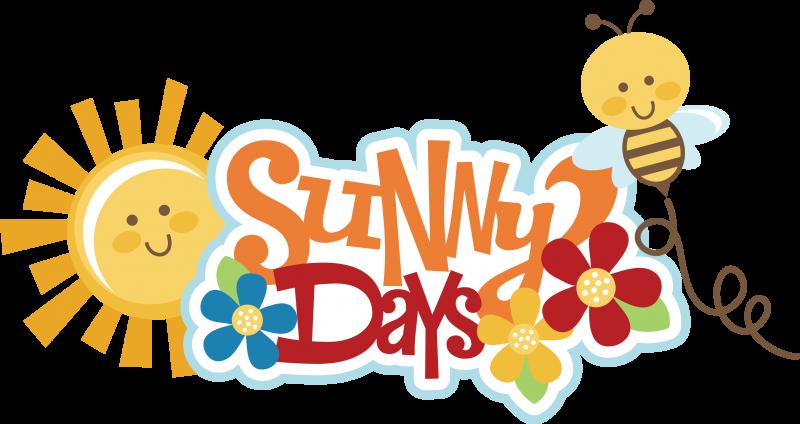 Days svg scrapbook title. Park clipart sunny day