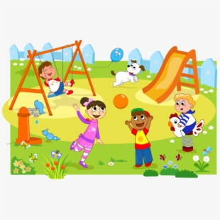 Outside swings play free. Clipart park toddler playground