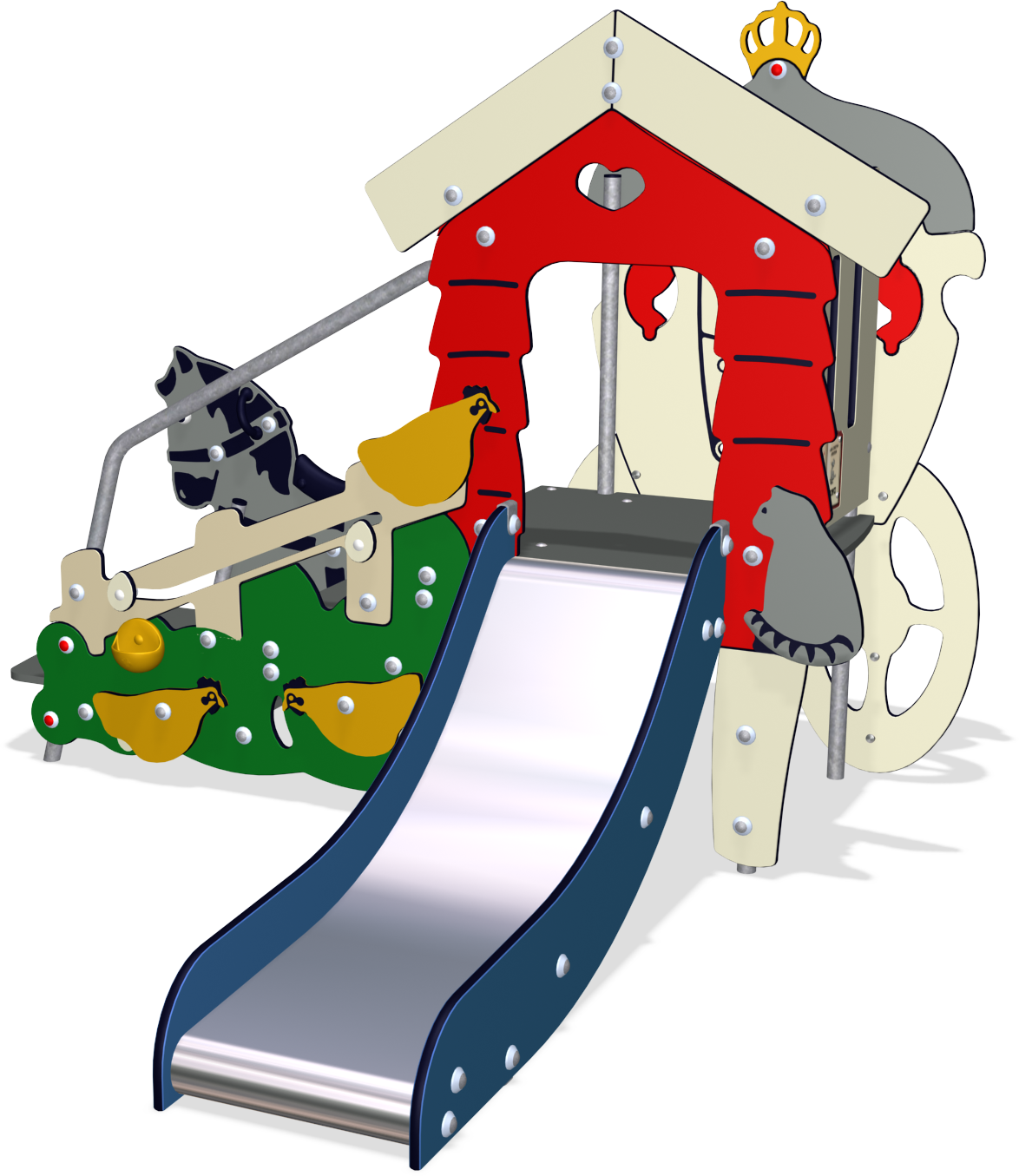 Clipart park toddler playground. Chicken farm and horse