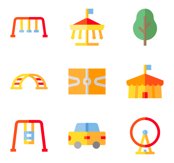 Parking lot clipart icon. Icons free vector playground