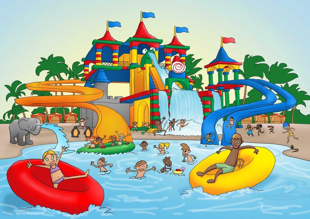 clip art clipartlook. Park clipart water park