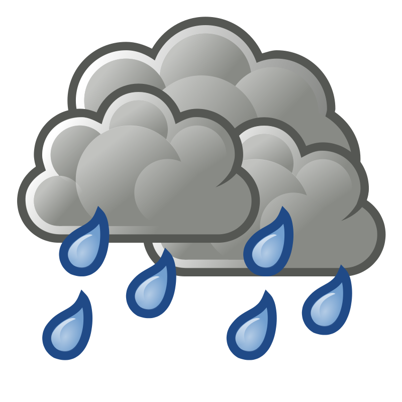 Fog clipart breezy weather. Rain showers clip art