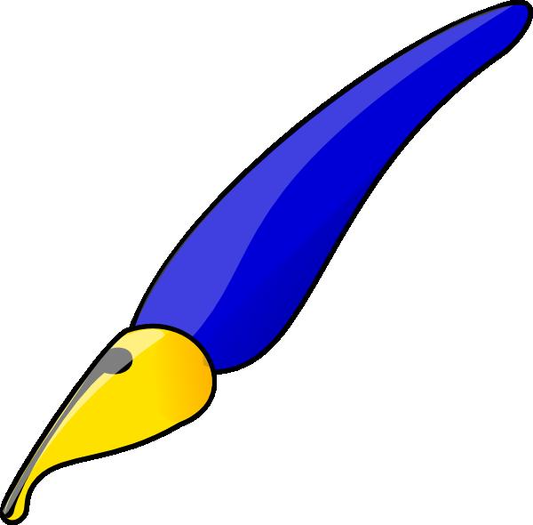 Toucan clipart blue. Fancy pen clip art