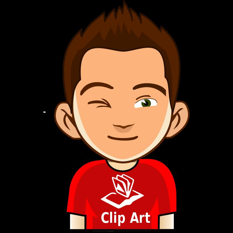 Eyebrow clipart kid. Free boy portrait cliparts