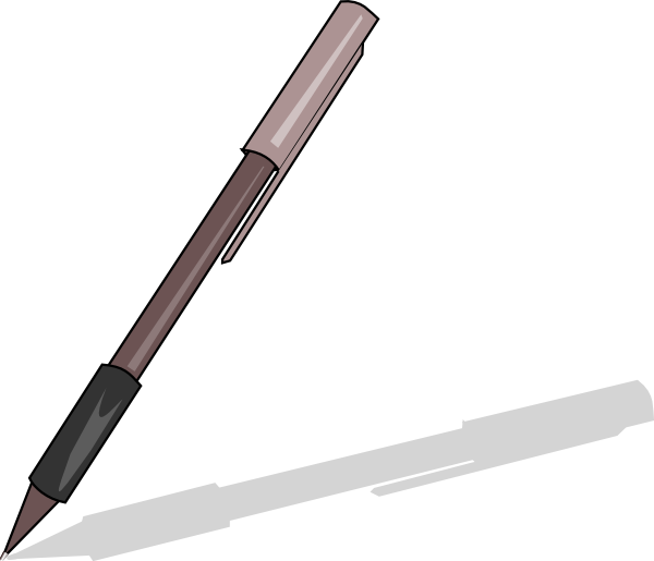 Pen clipart animation. Grip clip art at