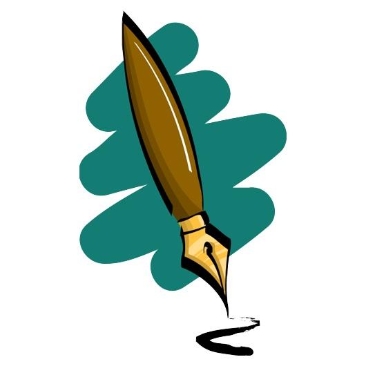 Clipart pen fountain pen. Ink clipartandscrap