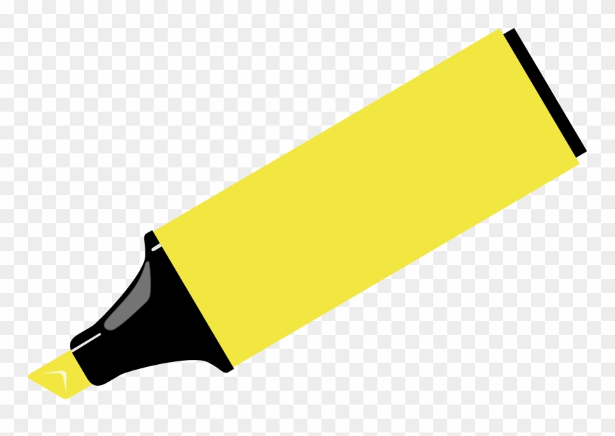 Markers clipart highlighter. Marker pen drawing clip