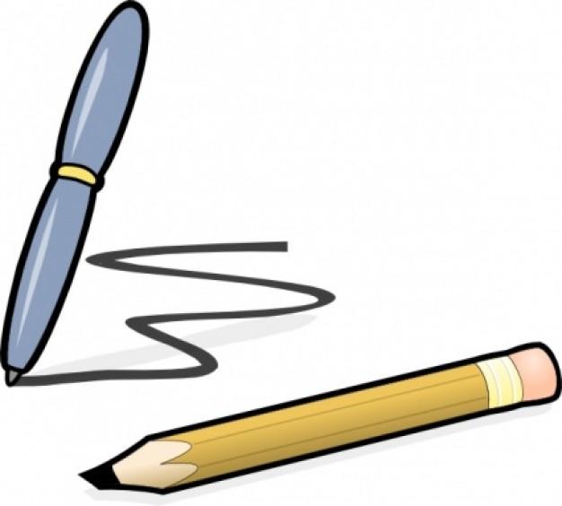 Pencil clip art panda. Clipart pen horizontal