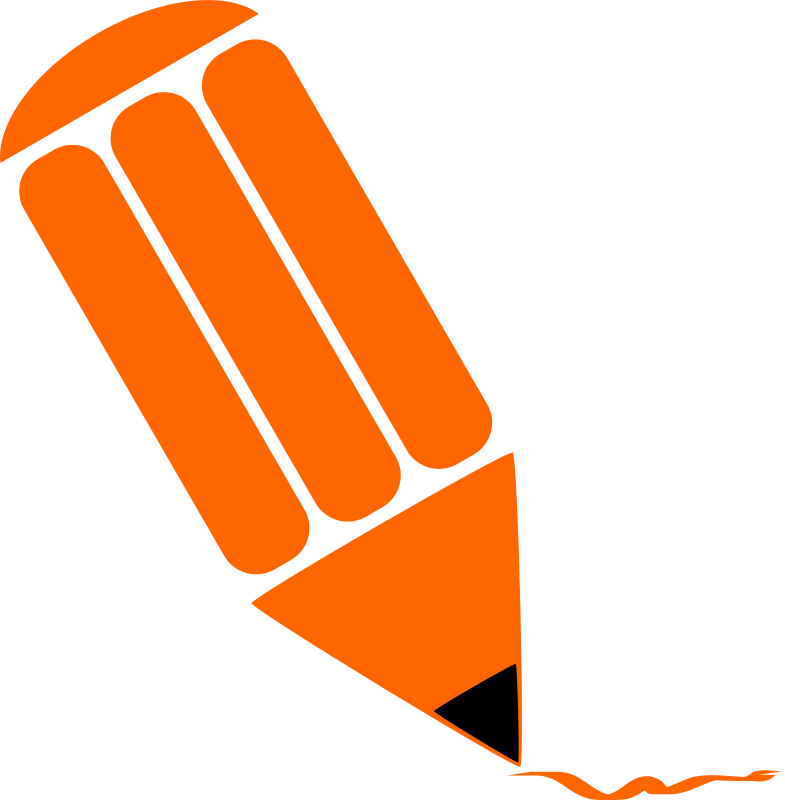 pencil clipart logo