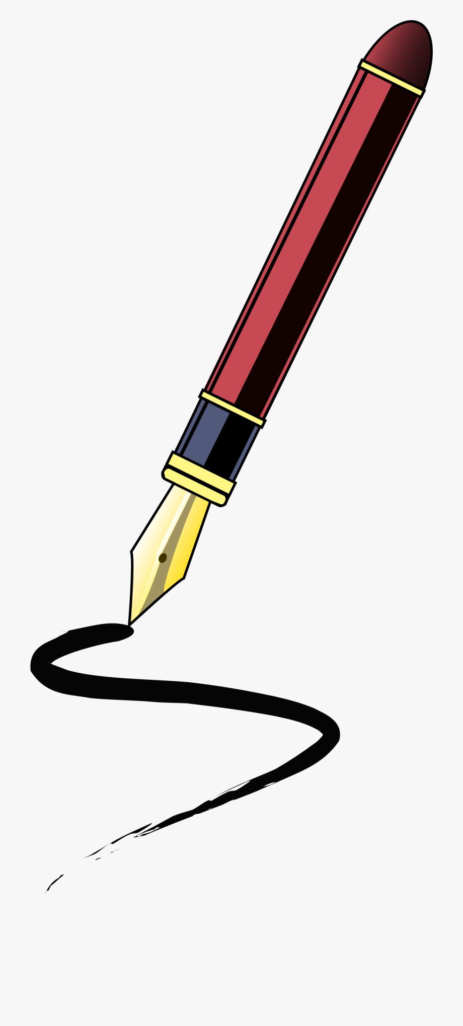Pen clipart elegant. Journalist free