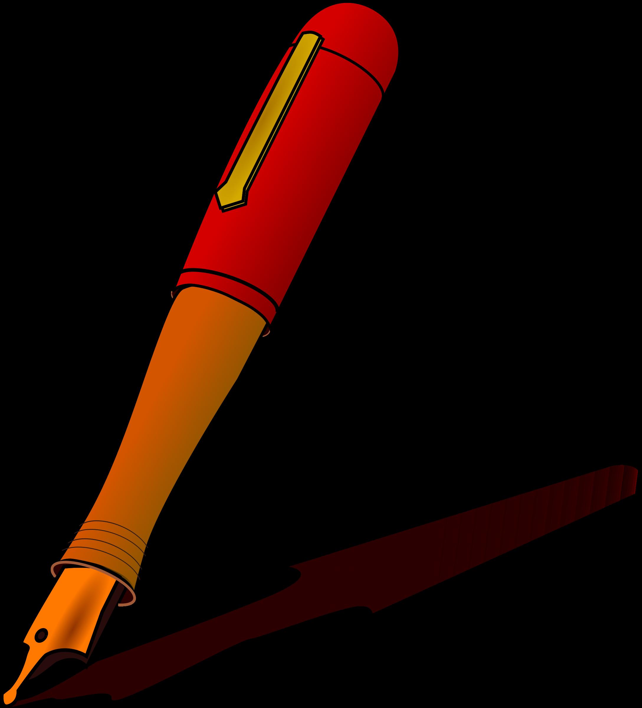 Pen clipart kalam dawat. Clip black and white