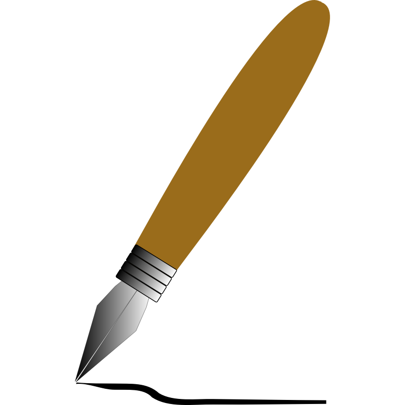 Quill image cliparts co. Pen clipart kalam dawat