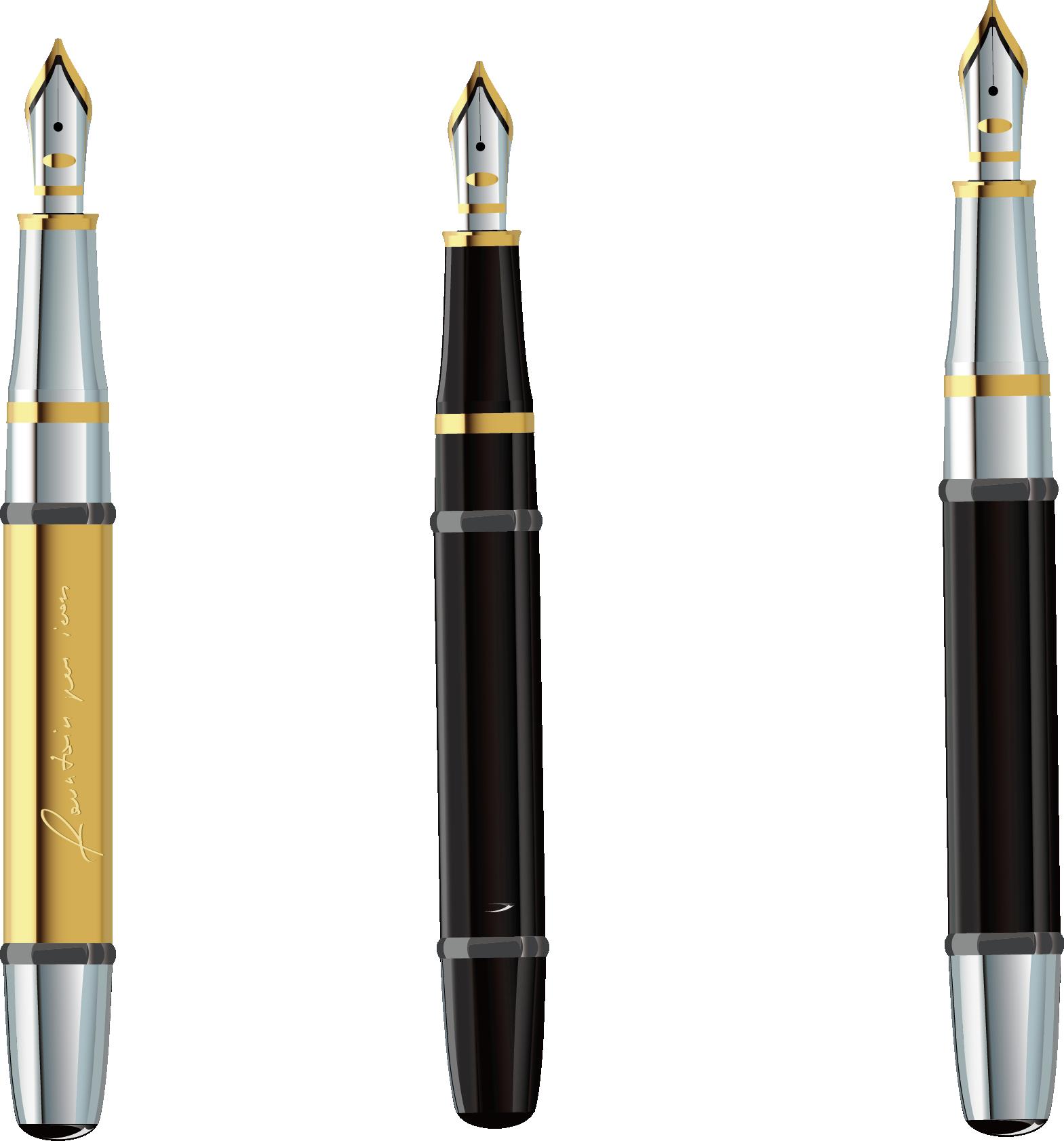 Clipart pencil pen. Fountain clip art expensive