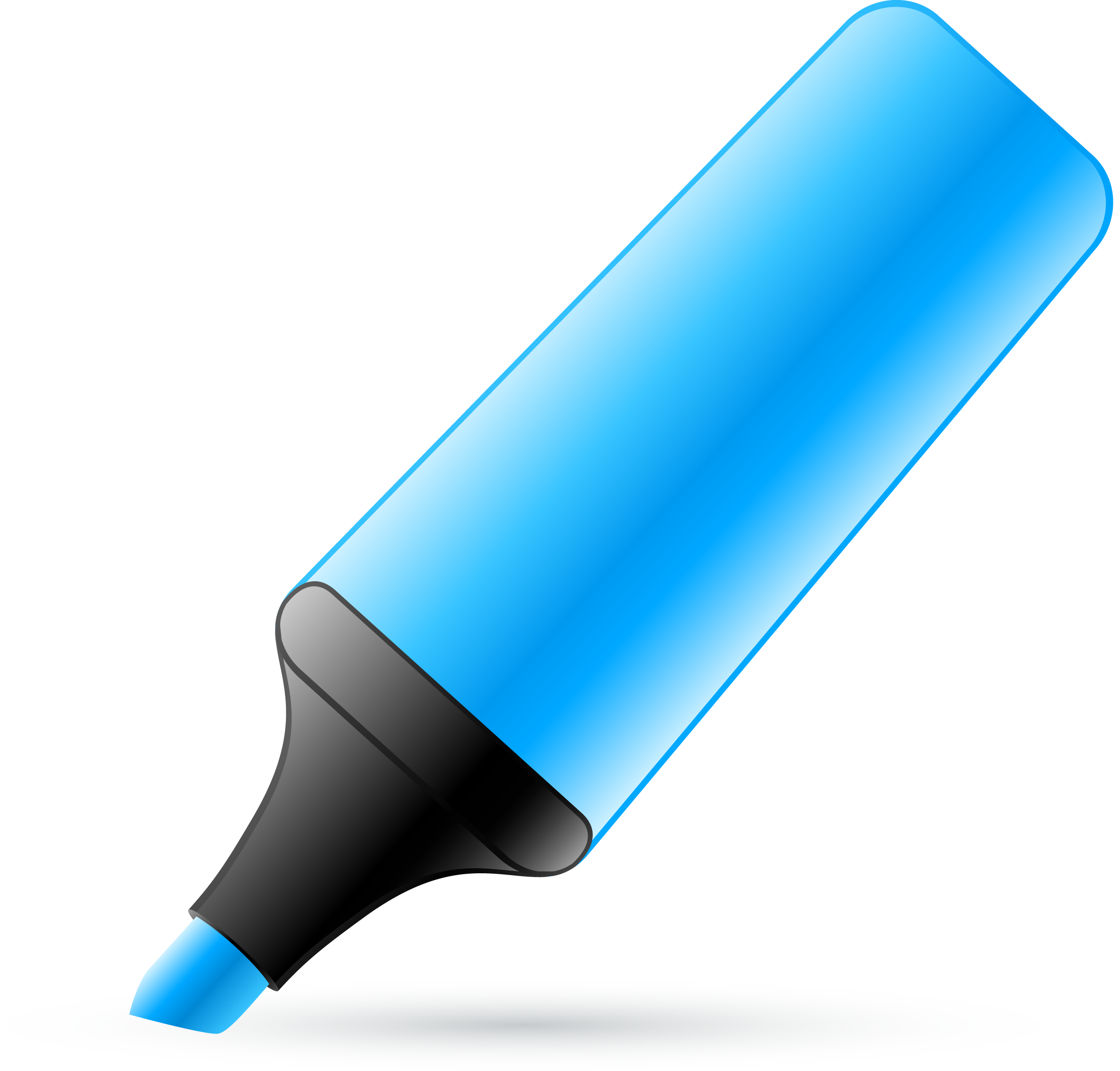 Markers clipart blue.  collection of marker