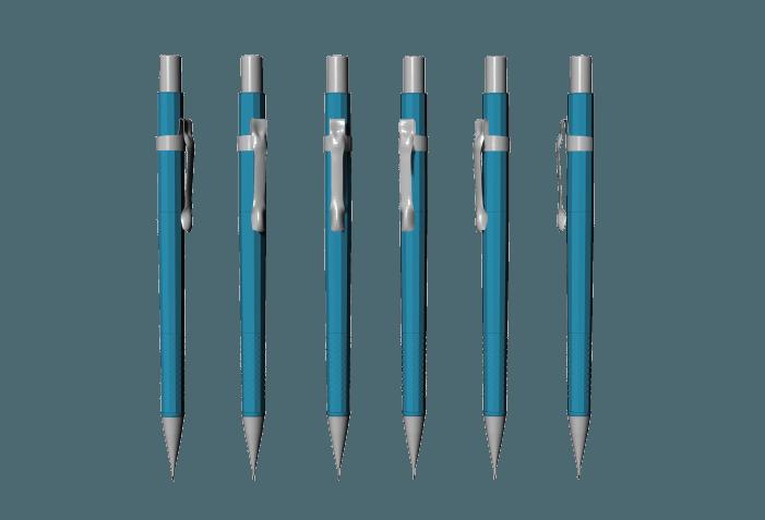 Rhino kurs ao artboard. Clipart pen mechanical pencil